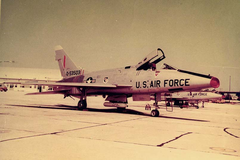 F-100D #55-3503, Project Pave Arrow, Eglin AFB, FL