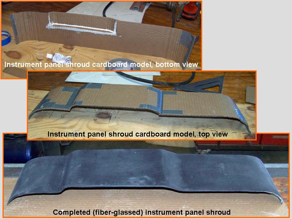 A composite picture that shows the work done to make the 