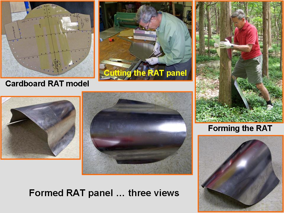 Composite picture of the activities that formed the RAT panel. 