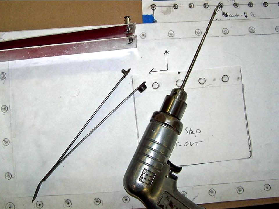 A picture of hole finder tools. Click on the picture to enlarge it.